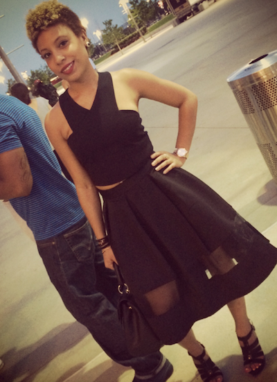 What I wore to the Jay & Beyonce #OntheRun concert. Dressed in all black like the omen. See? Not a fashion killer.